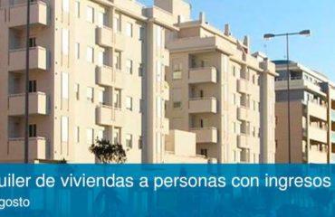 Ayudas para el alquiler de viviendas a personas con ingresos limitados