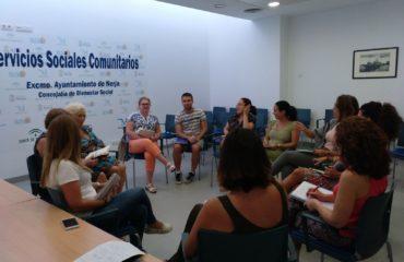 Reunión de coordinación entre Servicios Sociales y Centro de Salud de Nerja